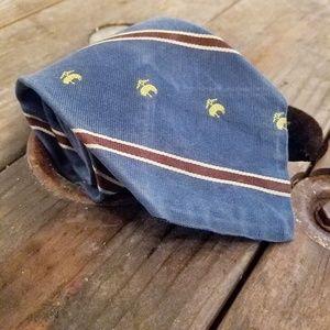 Vintage Brooks Brothers Makers Striped Blue w/Lamb